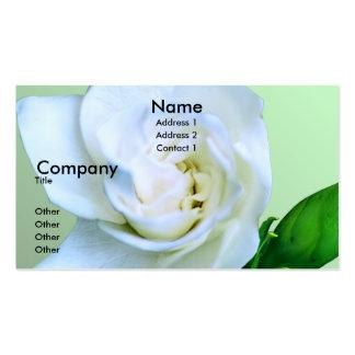 Gardenia Tarjetas De Visita