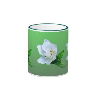 Gardenia Taza De Dos Colores
