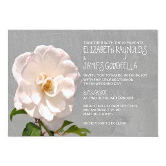 "Gardenia Wedding Invitations 5"" X 7"" Invitation Card"