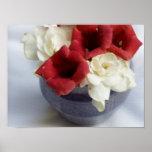 Gardenia y vid de trompeta impresiones