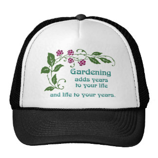 Gardening Adds Life to your Years Trucker Hat