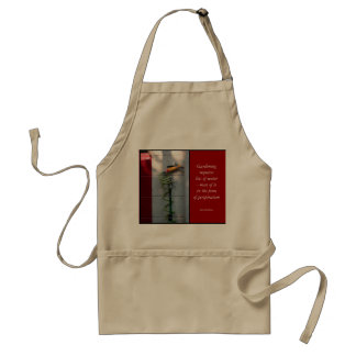 Gardening Apron with Quote