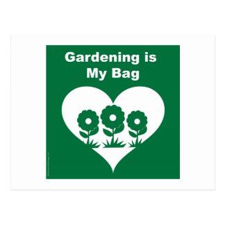 Gardening Bag Postcard