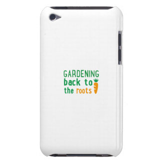 Gardening bake ton the roots iPod touch cases
