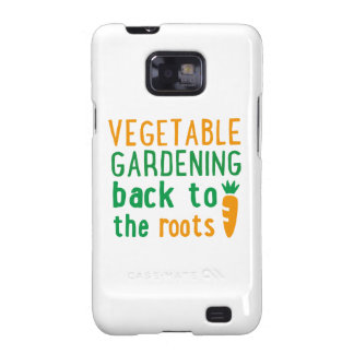 Gardening bake ton the roots samsung galaxy s2 case