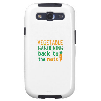 Gardening bake ton the roots samsung galaxy SIII cases
