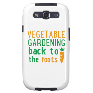 Gardening bake ton the roots samsung galaxy s3 case