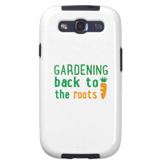Gardening bake ton the roots samsung galaxy s3 cover