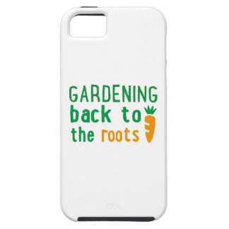 Gardening bake ton the roots iPhone 5 cover