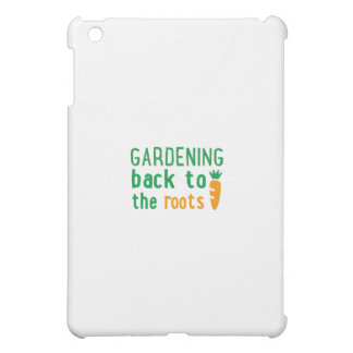 Gardening bake ton the roots iPad mini cover