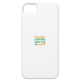 Gardening bake ton the roots iPhone SE/5/5s case
