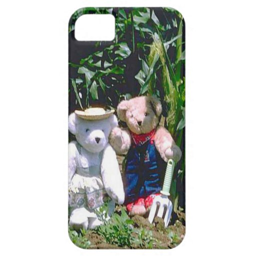 Gardening bears iPhone 5 covers