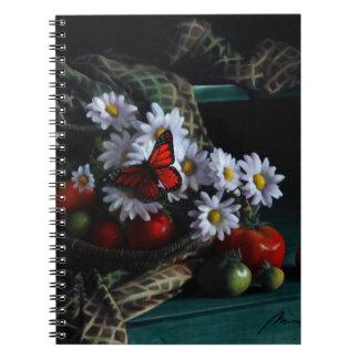 Gardening Bench Spiral Notebook