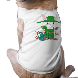 Gardening Bunny Pet Shirt