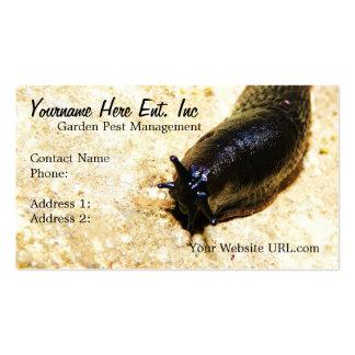 Gardening Business Slug  Business Cards