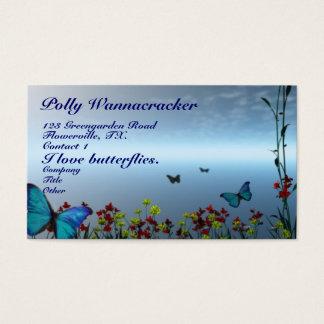Gardening Butterflies Business Card
