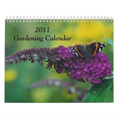 Gardening Calendar 2011