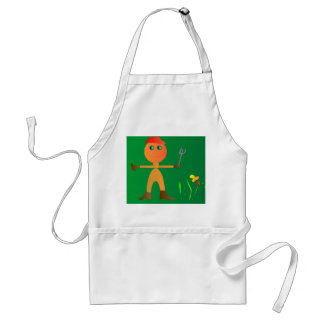 """>Gardening Character """"Happy"""">Cute Childrens aprons"""