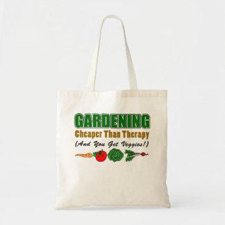 Gardening Cheaper Than Therapy (Plus Veggies!) Tote Bag
