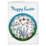 Gardening Circle Greeting Cards