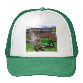 Gardening Fairy Faery Trucker Hat
