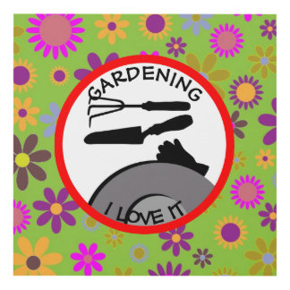 Gardening Flowers and Dreams Panel Wall Art