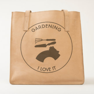 Gardening Flowers and Dreams Tote