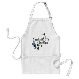 Gardening Grandma Adult Apron