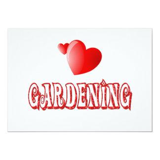 Gardening Hearts Card