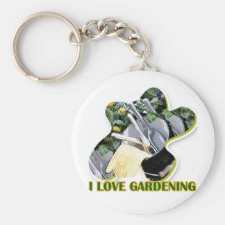 Gardening iGuide Flowers and Shrubs Keychain