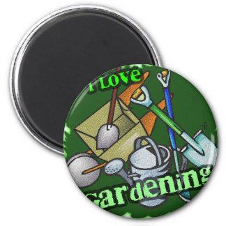 Gardening iGuide Gardening Tools 2 Inch Round Magnet