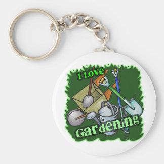 Gardening iGuide Gardening Tools Keychain