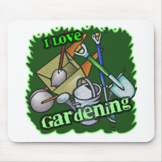 Gardening iGuide Gardening Tools Mouse Pad