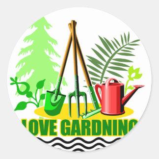 Gardening iGuide Wonderful Soil Classic Round Sticker
