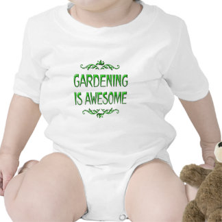 Gardening is Awesome Baby Bodysuit