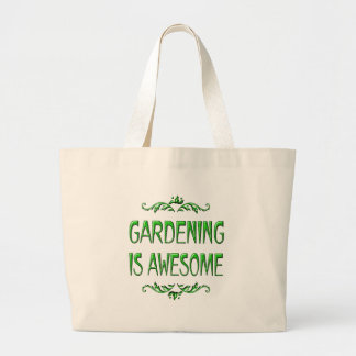 Gardening is Awesome Canvas Bag