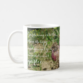 Gardening is Better than Therapy Coffee Mug