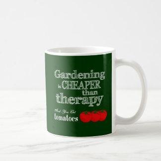 Gardening is Cheaper than Therapy... Coffee Mug