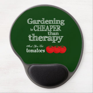 Gardening is Cheaper than Therapy... Gel Mouse Pad
