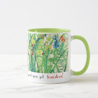 Gardening is Cheaper than Therapy mug