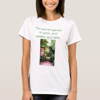 Gardening is great t-shirt