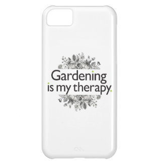 Gardening is my therapy iPhone 5C case