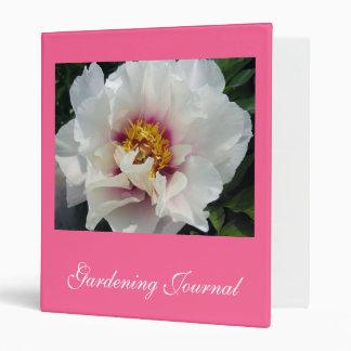 Gardening Journal Binder
