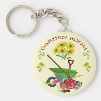 Gardening Keychain