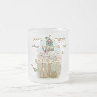 Gardening Love Grows Tshirts and Gifts Coffee Mug