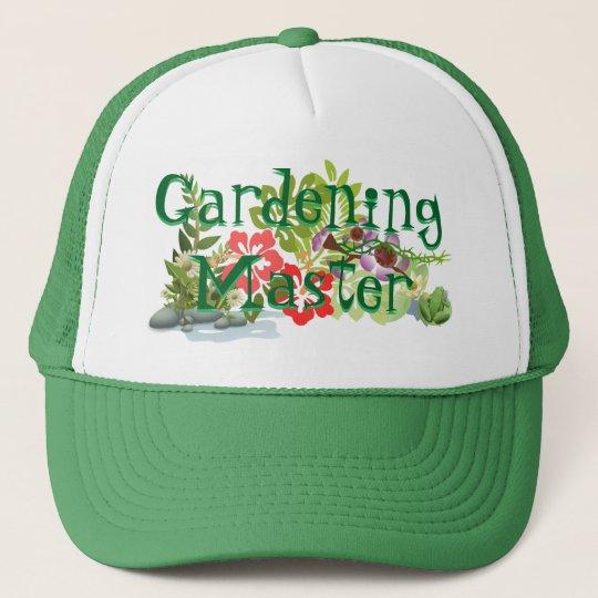 Gardening Master Trucker Hat! Trucker Hat | Zazzle.com