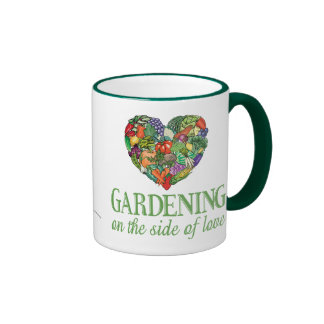 Gardening on the Side of Love Coffee Mugs