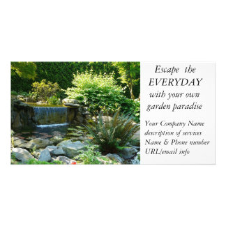 Gardening or Landscaping Business Photo Card
