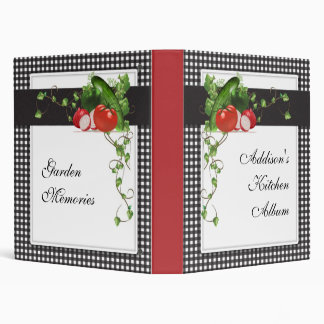Gardening Personalized Album Binder