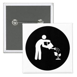 Gardening Pinback Button